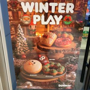 クリスマス限定ダンキンドーナツ