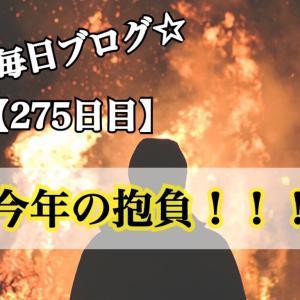 【275日目】2020年の抱負!