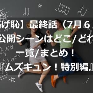 【逃げ恥】最終話(7月5日)未公開シーンはどこ/どれ?一覧/まとめ!『ムズキュン!特別編』