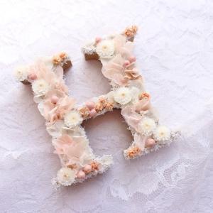 徳島県へアルファベットオブジェをお届け。yuki*florist.愛媛・花屋