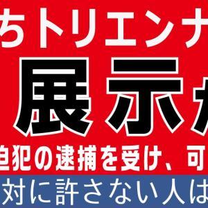 【再展示か?】昭和天皇の御真影を焼く映像など。トリエンナーレへの脅迫犯逮捕のため。【ガンガン行く人はシェア】
