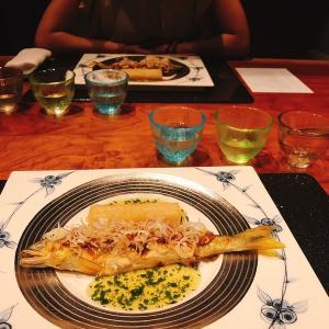 記念日ディナー「WASHOKU 蒼天」@紀尾井町