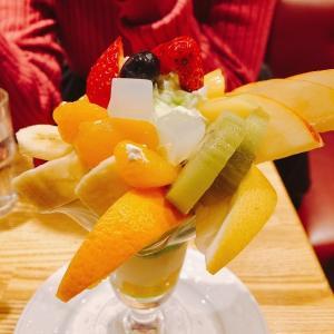 締めパフェが楽しめる老舗カフェ「珈琲館 紅鹿舎」@有楽町