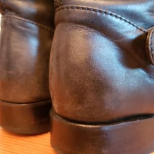 ブーツのお手入れ