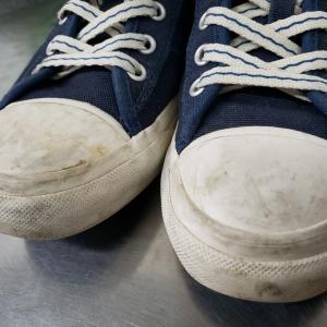 スニーカーの汚れ除去