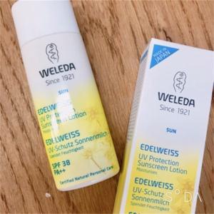 敏感肌や生後1か月の赤ちゃんでも使える!オーガニック保湿の日焼け止め『ヴェレダ』エーデルワイスUVプロテクト