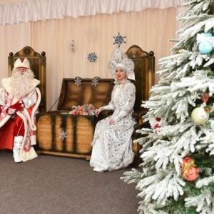 サンタクロースの登場です