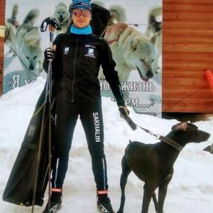 島の愛犬家は犬そり大会でロシアチャンピオンになりました
