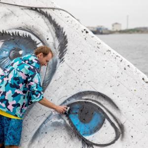 港のアートを作成します ホルムスク