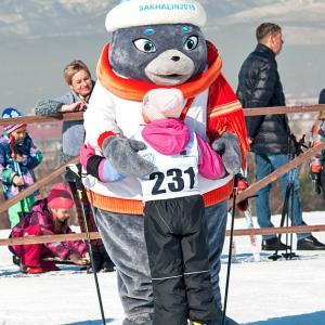 スキー指導のメッカはサハリンです