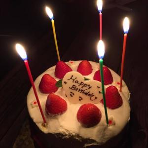 今年も無事、誕生日を迎えました♪