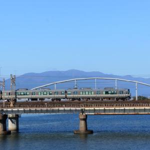 瀬田川でDD訓練列車を狙う!