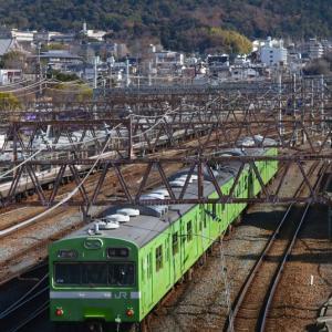 京都でDD訓練列車を狙う
