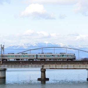 瀬田川でDD訓練列車を狙う
