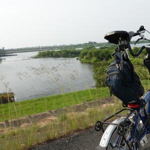 【名ポタ】BROMPTONで琵琶湖行ってみようポタ(1)