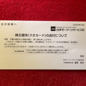 7192  日本モーゲージサービスから配当と優待が届きました。フリューから配当金届きました。