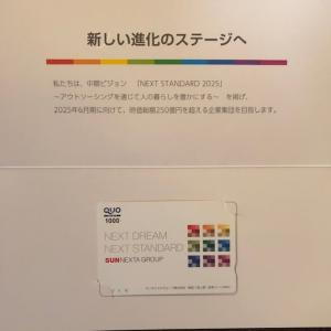 東証、システム障害 終日停止 8945 サンネクスタグループから配当金、優待届きました。