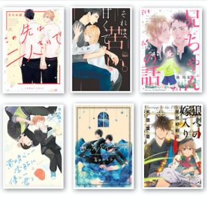 11月に購入したBL漫画(全10冊)