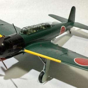 プラモデル:ハセガワ 1/48 中島 B6N2 天山 12型(完成品)