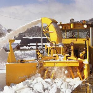 山形鉄道の除雪車 1