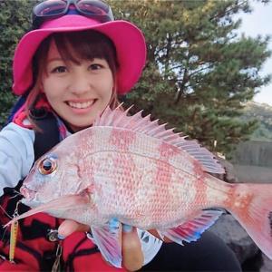 鹿児島のシンボル、雄大な桜島で釣れたー!