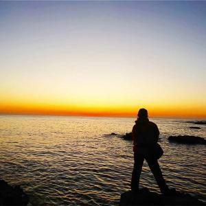 鹿児島の海もだんだん寒くなって来ましたが‼️毎日修行‼️