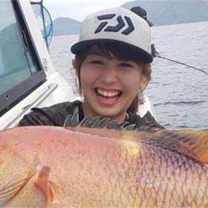 今度は硫黄島で、珍魚に遭遇⁉️