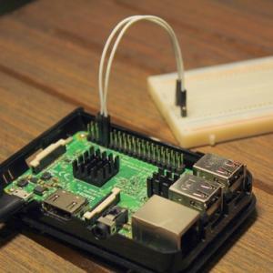 Raspberry Pi 3 Model B(ProsessingでGPIO入力!)
