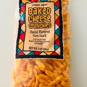 BAKED CHEESE CRUNCHIES