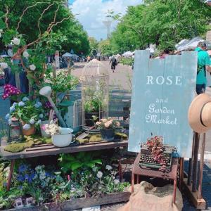 横浜のローズ&ガーデンマーケットに行ってきた