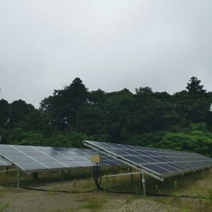 はじめての太陽光発電所