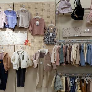 一時帰国④ ベビー服ショッピング
