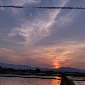 田舎の空。