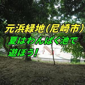 夏はわんぱく池で遊ぼう!元浜緑地(尼崎市)はお出かけスポットにおすすめ!