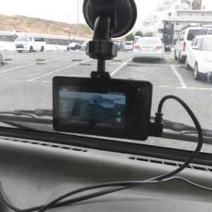 """我が家の""""おにぎり号"""" 2カメラのドライブレコーダーに交換です!"""