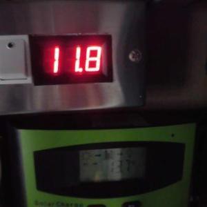 """我が家の""""おにぎり号"""" 走行充電バッテリーの電圧低下・・・!"""