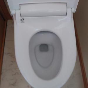 トイレの掃除してみました