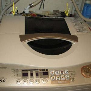 三菱電機全自動洗濯機ママ思いのエラーC1は故障です。が、簡単自前修理で一発解決 これで10年延命します
