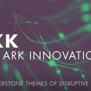 破壊的技術をテーマに投資銘柄を厳選する、ARK Innovation ETFその上昇率も常識を破壊する勢いが続く