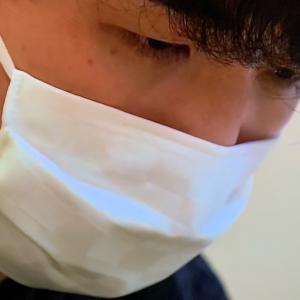 藤井七段の着物にも合うマスク