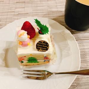 シャトレーゼ クリスマスの1人分ケーキ