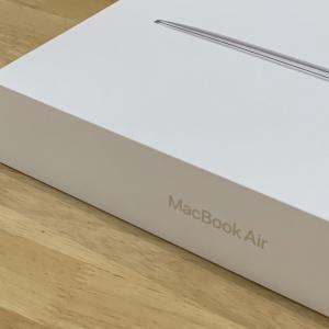 MacbookAirが届いた!