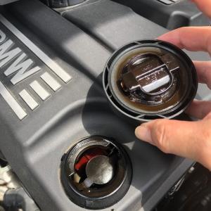 BMW オイルが減るのだ