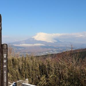裾野まで富士山をばっちり眺められる杓子峠「伊豆と車中泊-5-」