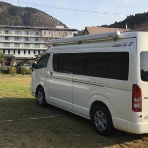 スペーシアギアで初の自宅車中泊。バンコンと比べてどうなん?
