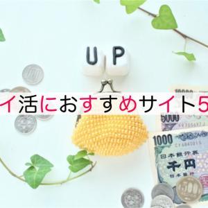 【ポイ活おすすめ5選】やらないと損!!ポイントサイトで月に1万円のお小遣を稼ごう