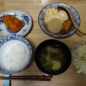 ・コンビニおでん ・ななチキ ・バスクチーズケーキ ・鶏の水炊き ☆ニラ玉  ~ちゃたまったり~