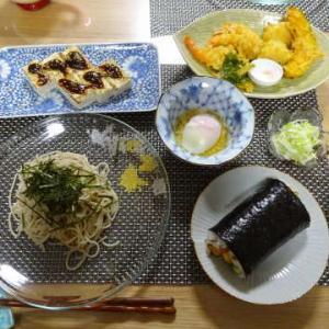 ●スシロー恵方巻 ・信州そば ・スシロー天ぷら ・焼き豆腐田楽 ・温泉卵
