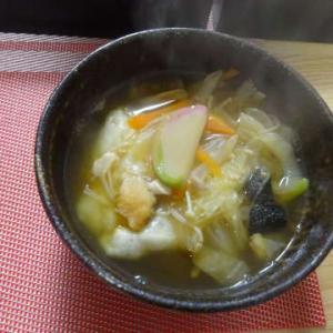 ●お雑煮 ・餡かけラーメン ・すき焼き ・じゃが芋ガレット ・白菜ミルクスープ ・とろろ漬け丼