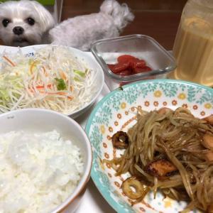 野菜メイン!先日の夕飯!